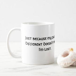 Caneca De Café Meu trajeto é diferente… não significa que eu