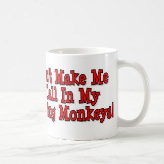 Caneca De Café Meus macacos