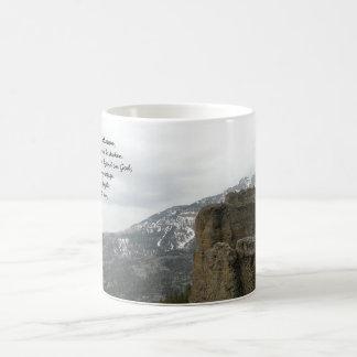 Caneca De Café Meus rocha e salvação