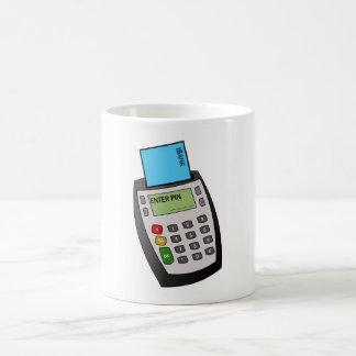 Caneca De Café Microplaqueta e máquina do Pin