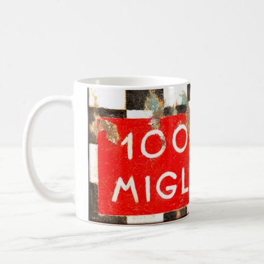 Caneca De Café Mille Miglia - Racing Design MUG