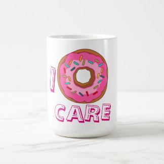 Caneca De Café Mim chalaça do cuidado da rosquinha