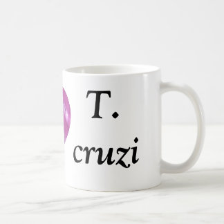 Caneca De Café Mim (coração) cruzi do T.