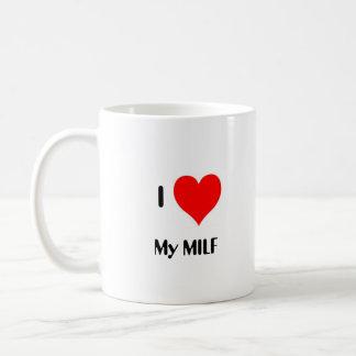 Caneca De Café Mim coração meu MILF