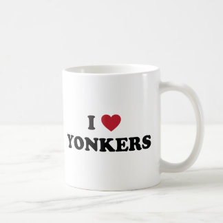 Caneca De Café Mim coração Yonkers New York