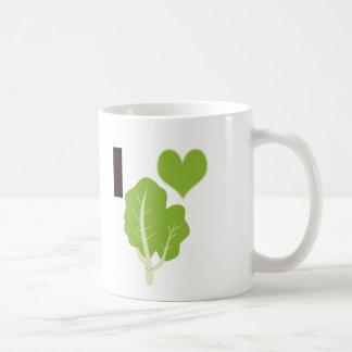 Caneca De Café Mim couve do coração