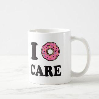 Caneca De Café Mim cuidado da rosquinha engraçado