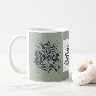 Caneca De Café Mim Daffodils do coração