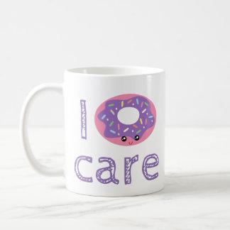 Caneca De Café Mim emoji bonito do humor da chalaça da filhós do