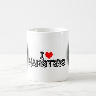 Caneca De Café Mim hamster (do coração)