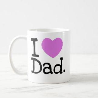Caneca De Café mim pai do coração