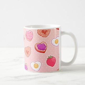 Caneca De Café Mim pequeno almoço <3