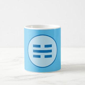 Caneca De Café Mim Trigram da água de Ching (Kan)