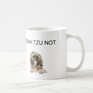 Caneca De Café mim tzu de shih não