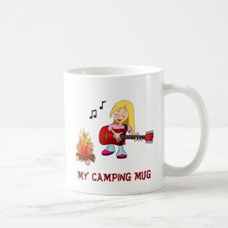 Caneca De Café Minha Caneca-Menina de acampamento