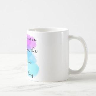 Caneca De Café Minha felicidade depende da plenitude deste copo
