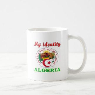 Caneca De Café Minha identidade Argélia