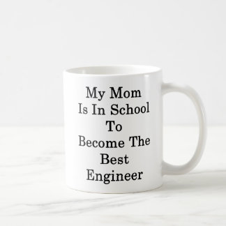 Caneca De Café Minha mamã está na escola a transformar-se o