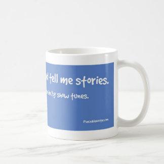 Caneca De Café Minhas vozes dizem-me histórias