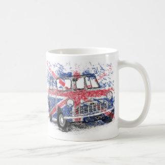 Caneca De Café Mini britânico clássico
