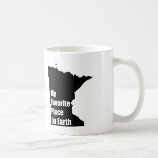 Caneca De Café Minnesota meu lugar favorito na terra