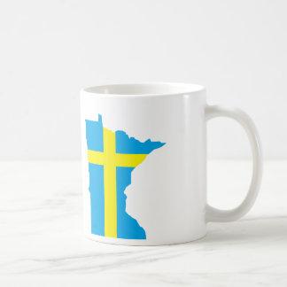 Caneca De Café Minnesotan sueco