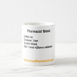 """Caneca De Café Mistura do """"farmacêutico"""""""