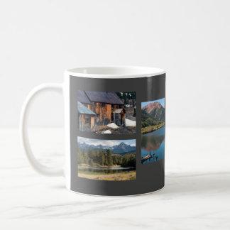 Caneca De Café Modelo da foto das montanhas do San Juan de