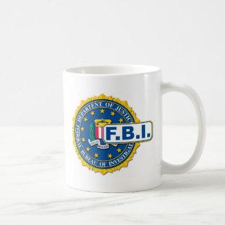Caneca De Café Modelo do selo do FBI