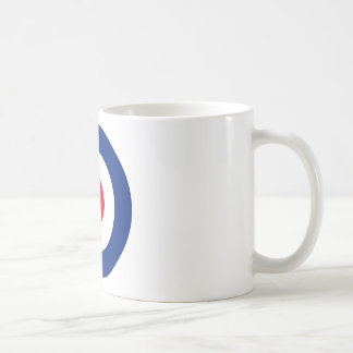 Caneca De Café Modificação - Roundel clássico - alvo do tiro ao