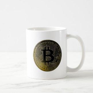 Caneca De Café Moedas de Bitcoin
