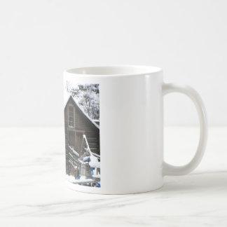 Caneca De Café Moinho da munição de Keremeos no inverno