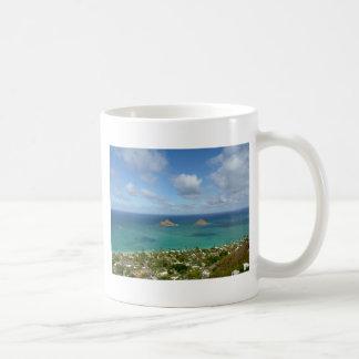 Caneca De Café Moks fora da costa de Lanikai