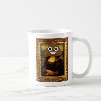 Caneca De Café Mona Lisa com tombadilho feliz