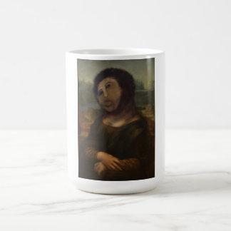 Caneca De Café Mona restaurada Lisa