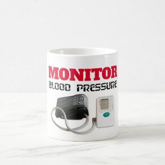 Caneca De Café Monitoração da pressão sanguínea