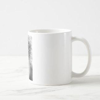 Caneca De Café Monochrome do dente-de-leão