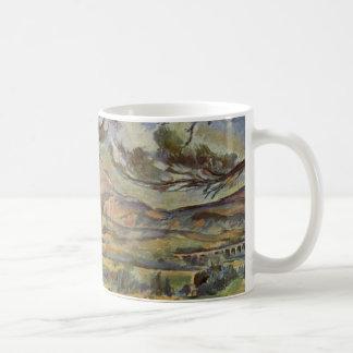 Caneca De Café Mont Sainte-Victoire por Paul Cézanne