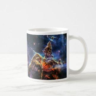 Caneca De Café Montanha místico na NASA do espaço