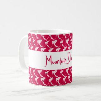 Caneca De Café Montanha que sonha no por do sol