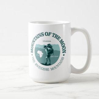 Caneca De Café Montanhas da lua