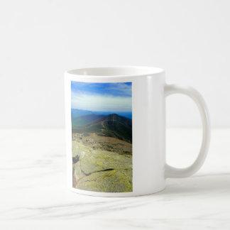 Caneca De Café Montanhas do branco de Franconia Ridge