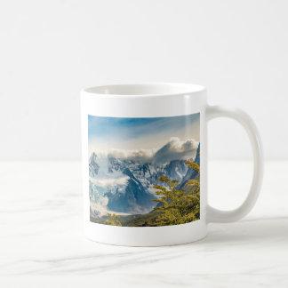 Caneca De Café Montanhas nevado de Andes, EL Chalten Argentina