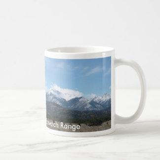 Caneca De Café Montanhas rochosas