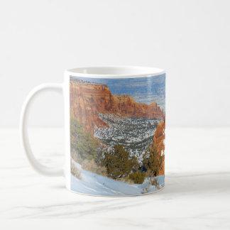 Caneca De Café Monumento nacional de Colorado
