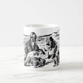 Caneca De Café Morsa, Carpeter e ostras