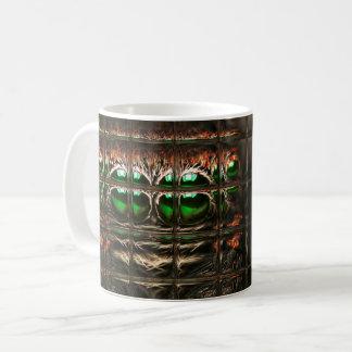 Caneca De Café Mosaico da aranha