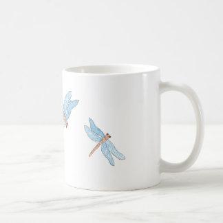 Caneca De Café Mosca azul do dragão