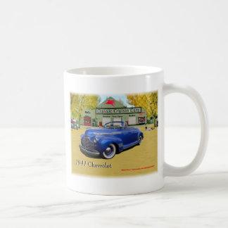 Caneca De Café Mostra 1941 clássica de Chevy dos carros de