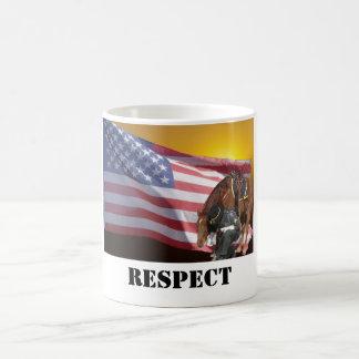 Caneca De Café Mostrando o respeito